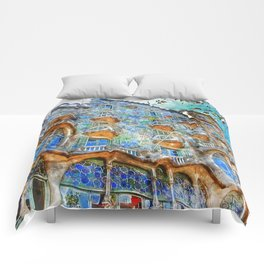 Barcelona, Casa Batllo Comforters