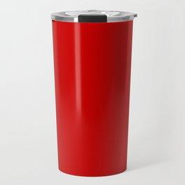 Bright red Travel Mug