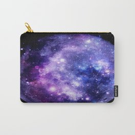 Galaxy Planet Purple Blue Space Carry-All Pouch