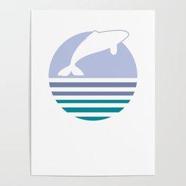 Killer Whale Marine Animals Underwater Creature Underwater Gift Poster