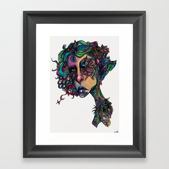 All in The Colors Framed Art Print