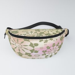 Candys Hippie Design 4 Fanny Pack