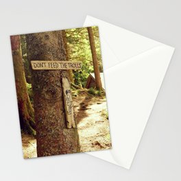 Don't feed the trolls - Norway forest tales - Fine Art Travel Photography Stationery Cards