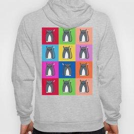 Odd Kitty Out - Tabby Cat Pattern Hoody