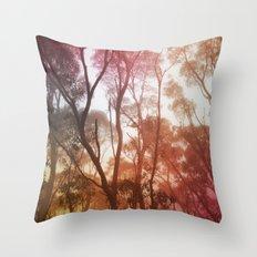Hazy Throw Pillow