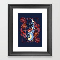 King of Despair Framed Art Print