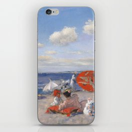 At the Seaside, William Merritt Chase 1892 iPhone Skin