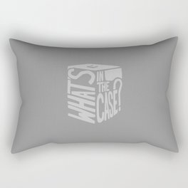 What's in the Case? -Ronin Rectangular Pillow