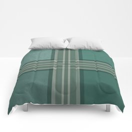 Shades of green Comforters
