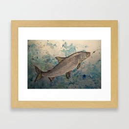 """Manitoba Whitefish"" Framed Art Print"