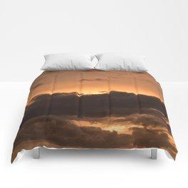 Costa Rican Sunset Comforters