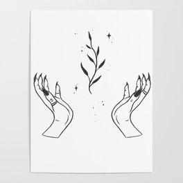Plant witch Poster
