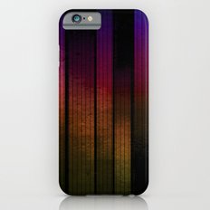 between lines and metal iPhone 6s Slim Case