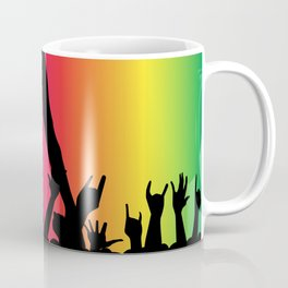 Entertainer With Audience Coffee Mug