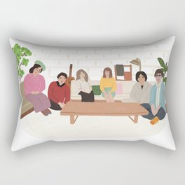 Terrace House Rectangular Pillow