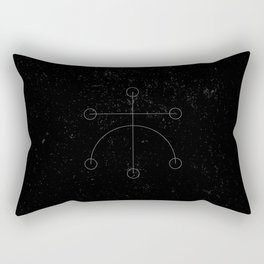 Kaupaloki Rectangular Pillow
