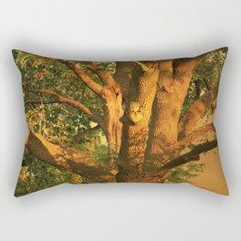 Tree Poem Rectangular Pillow
