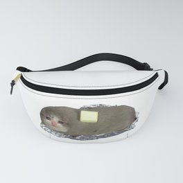 Baked Cat Potato with Butter? Fanny Pack