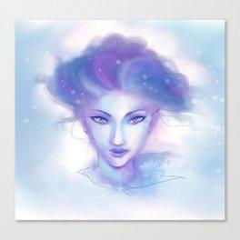 Snow Fae Canvas Print
