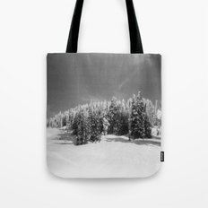 snow-capped Tote Bag