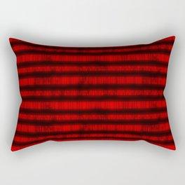 Red Dna Data Code Rectangular Pillow