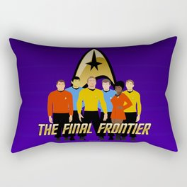 The Final Frontier Rectangular Pillow