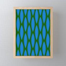 Leaf Pattern_002 Framed Mini Art Print