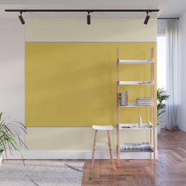 Warm Sunlight Color Block Wall Mural