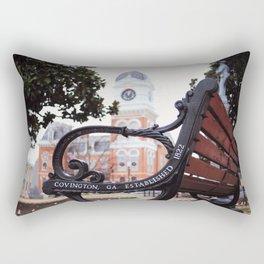 Covington, Georgia at Christmas Rectangular Pillow