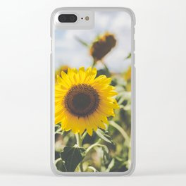 Allora | Sunflowers Clear iPhone Case