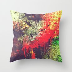The Meltdown Throw Pillow