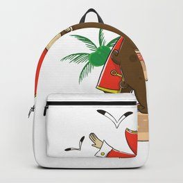 Funny Pirate dabbing product - perfect gift Backpack