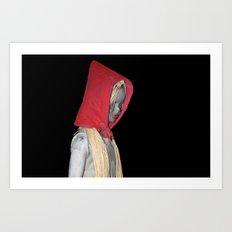 cappuccetto rosso Art Print