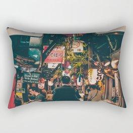 """PHOTOGRAPHY """"Typical Japan Street"""" Rectangular Pillow"""
