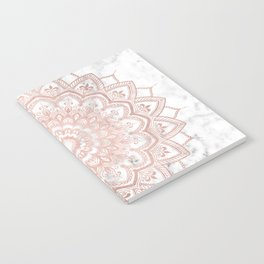 Pleasure Rose Gold Notebook