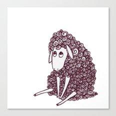 Sheepie Canvas Print