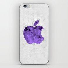 PURPLE Painted Apple iPhone & iPod Skin