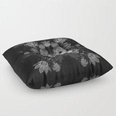 Botanical Darkness Floor Pillow