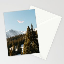 Daylight Moon Stationery Cards
