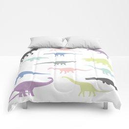 Colorful dinosaurus pattern Comforters