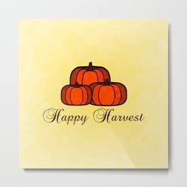 Happy Harvest Metal Print