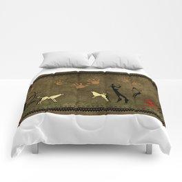Cavemen Wall Comforters