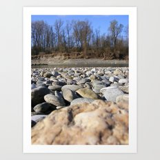 By the Rivers of Babylon Art Print