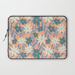 Just Peachy Floral Laptop Sleeve