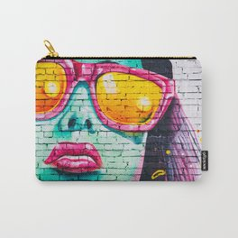 Vintage NYC Girl Carry-All Pouch