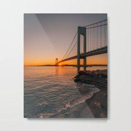 Verrazano Sunset Metal Print