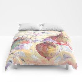 Three worlds Comforters