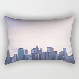 Lower Manhattan Skyline Rectangular Pillow