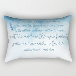 UGLY LOVE . COLLEEN HOOVER Rectangular Pillow