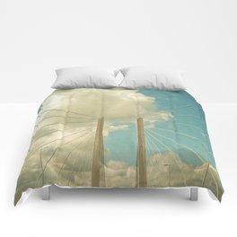 Over the Bridge Comforters